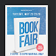 Book Fair Flyer - GraphicRiver Item for Sale