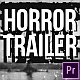 Horror Trailer - VideoHive Item for Sale