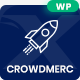 Crowdmerc - Crowdfunding Startup Fundraising WordPress Theme - ThemeForest Item for Sale