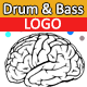 Drum and Bass Logo - AudioJungle Item for Sale