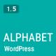 Alphabet - A Responsive WordPress Blog Theme - ThemeForest Item for Sale