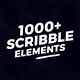1000 Scribble Elements - VideoHive Item for Sale