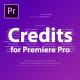 Film Credits Kit - VideoHive Item for Sale