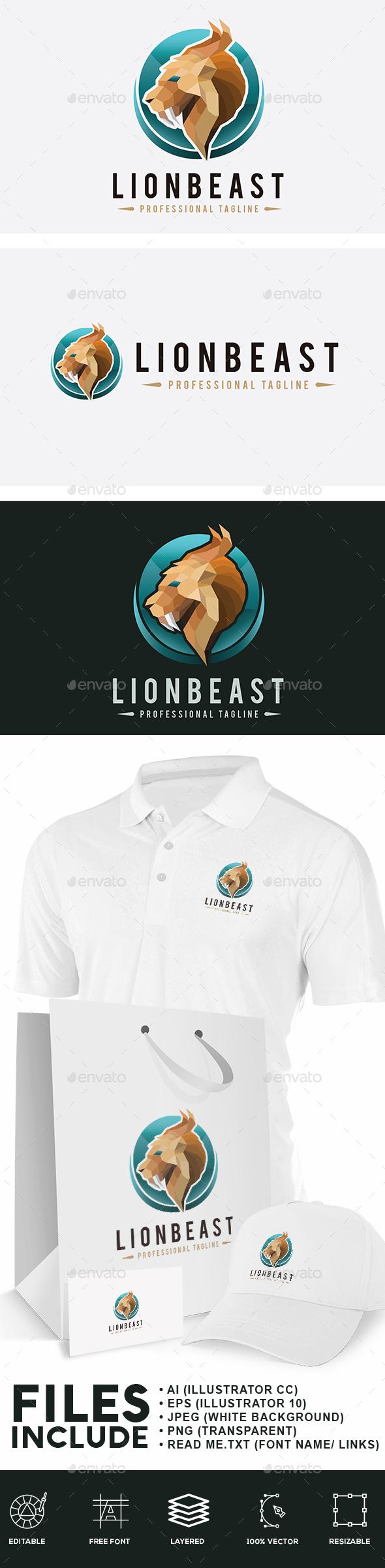 Lion Beast Logo