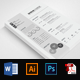 CV Resume Office Word - GraphicRiver Item for Sale
