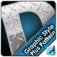 Diamond Plate Illustrator Graphic Style & Pattern - GraphicRiver Item for Sale