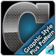 Glossy Carbon Fiber Graphic Style with Pattern - GraphicRiver Item for Sale