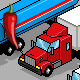 Pixel Art Truck Pack - GraphicRiver Item for Sale