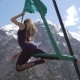 Aerial, Antigravity Yoga Outdoor - VideoHive Item for Sale