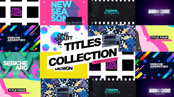 Titles Collection Cracked Videohive (4 88 MB) - Nulled Script Free