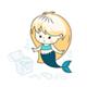 Little Mermaid Illustrations Set - GraphicRiver Item for Sale