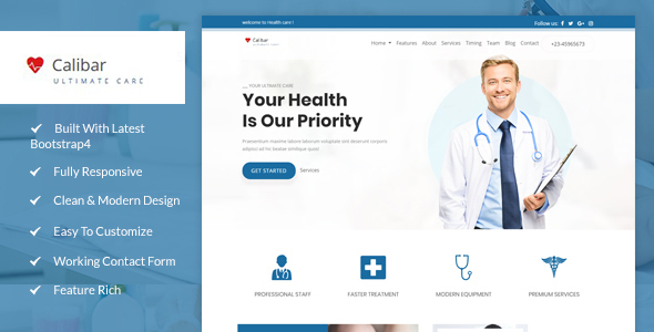 Calibar- Multipurpose Medicle Template