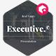 Executive - Real Estate Presentation Template - GraphicRiver Item for Sale