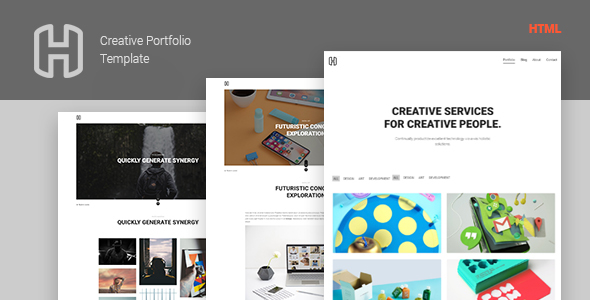Honor - Creative Portfolio Showcase Template