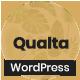 Qualta - Responsive WordPress Blog Theme - ThemeForest Item for Sale