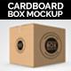 Cardboard Box / Carton Mock-up. - GraphicRiver Item for Sale
