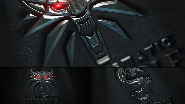 Cinematic Metal Logo Reveal
