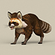 Game Ready Raccoon - 3DOcean Item for Sale