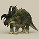Game Ready Triceratops Dinosaur - 3DOcean Item for Sale