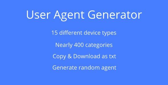 User Agent Generator Download