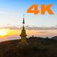 Sunrise on Golden Pagoda - VideoHive Item for Sale