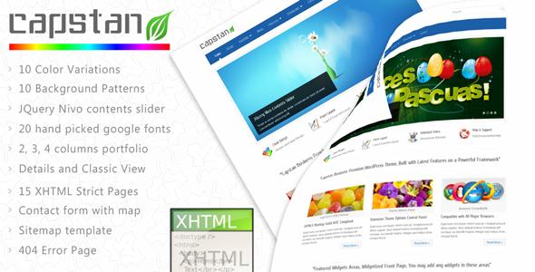 Capstan Business Premium - XHTML Template