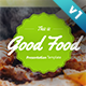 Good Food Presentation Template - GraphicRiver Item for Sale