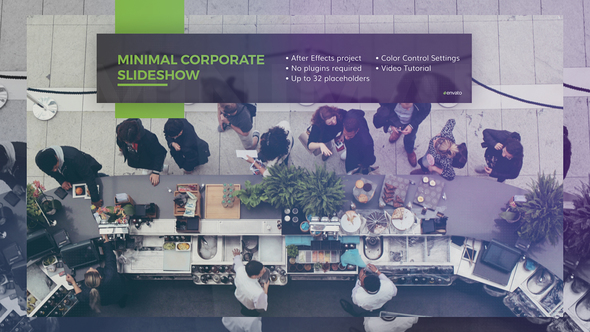 Minimal Corporate Slideshow