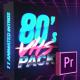 80's VHS Intro Pack | MOGRT for Premiere Pro - VideoHive Item for Sale