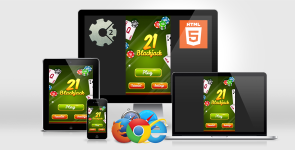 BlackJack 21 - HTML5 Casino Game Download