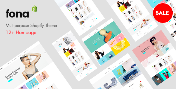 Fona - Premium Multipurpose Shopify Theme