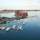 Motor Boat on a Lake - VideoHive Item for Sale