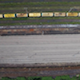 Railway aerial view with old looking train - VideoHive Item for Sale