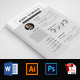 CV Resume Word Format - GraphicRiver Item for Sale