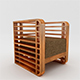 Square Line Sofa Set - 3DOcean Item for Sale