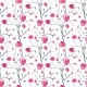 Hand Drawn Seamless Pattern of Roses - GraphicRiver Item for Sale