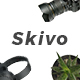 Skivo - Creative Agency Landing Page with Blog