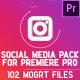 Social Media Pack | MOGRT for Premiere PRO - VideoHive Item for Sale