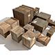 Transport crates Pack2 PBR - 3DOcean Item for Sale