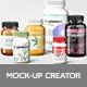 Supplement Bottles Mockup - GraphicRiver Item for Sale