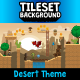 Desert 2D Tileset and Background - GraphicRiver Item for Sale