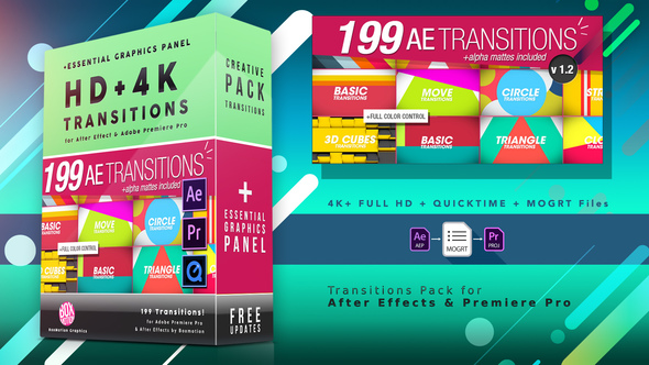 After Effects Transition Broadcast Packages from VideoHive