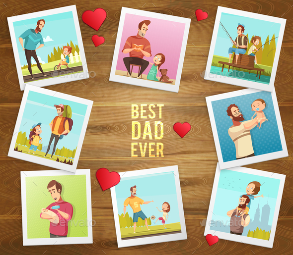 Best Father Ever Composition