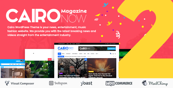 Cairo - Newspaper & Magazine WordPress Theme