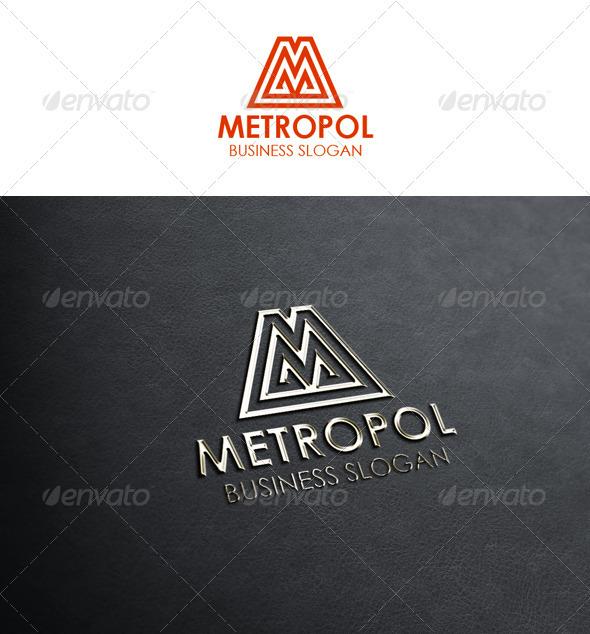Letter M Logo - Metropol