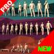 Lowpoly People Pack Walking Standing Running - 3DOcean Item for Sale