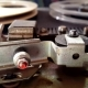 Old Retro Reel Audio Recorder Reels Spinning - VideoHive Item for Sale