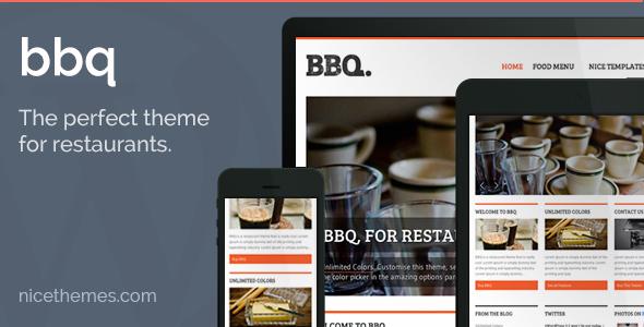BBQ - Restaurant WordPress Theme