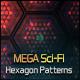 Mega Sci-Fi Hitech Hexagon Patterns - GraphicRiver Item for Sale