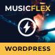 MusicFlex - WordPress Theme for Musicians - ThemeForest Item for Sale